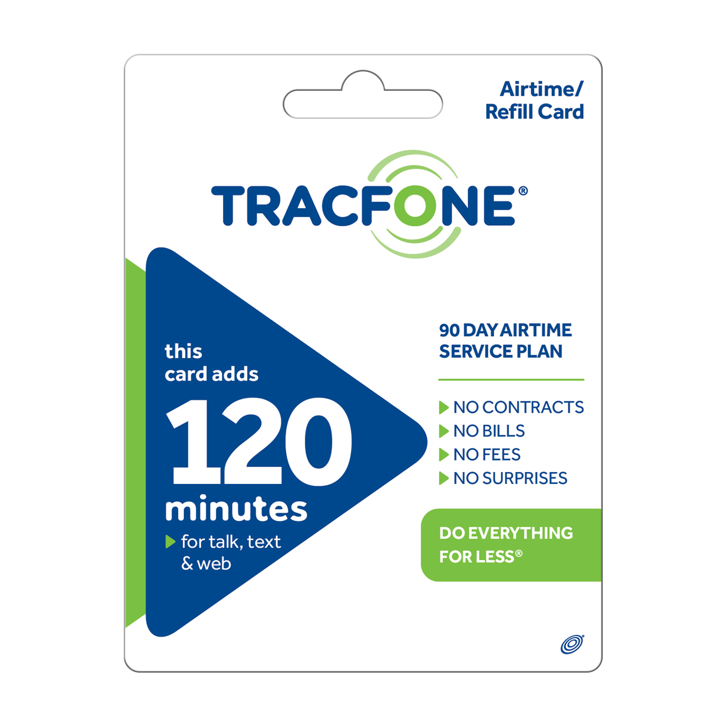 (Email Delivery) TracFone 120 Minute/90 days $29.99