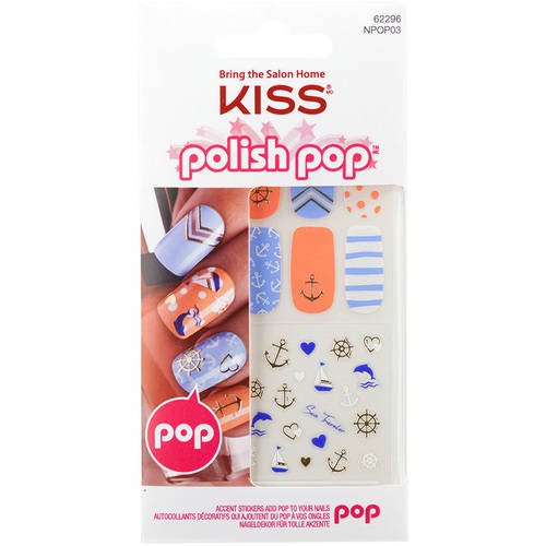KISS Polish Pop Nail Art, Main Street