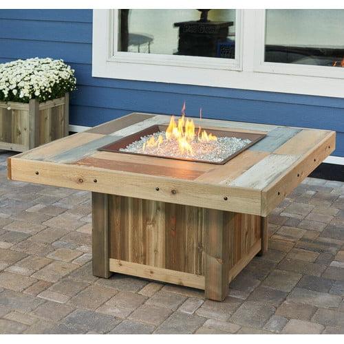 The Outdoor GreatRoom Company Vintage Gas Firepit Table by The Outdoor GreatRoom Company