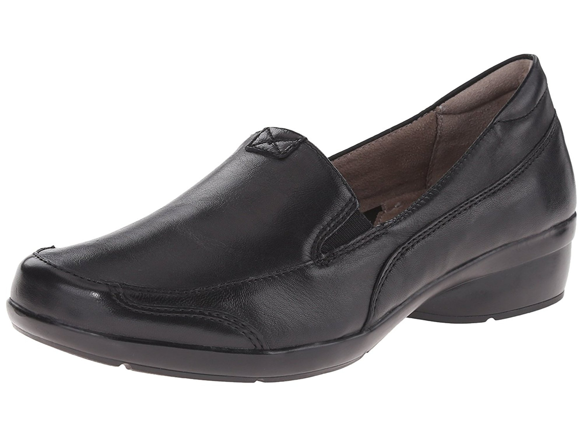 Naturalizer Womens channing Leather Almond Toe Loafers by Naturalizer