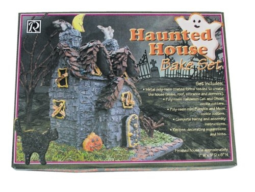 9 Piece Haunted House Cookie Cutter Bake Set by