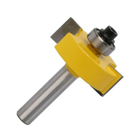 8MM Shank Rabbet Router Bit with Bearings Set Woodworking Milling Tenon Cutter - image 7 de 7