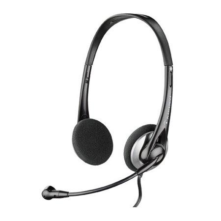 Plantronics Audio326 Analog Stereo Corded Headset