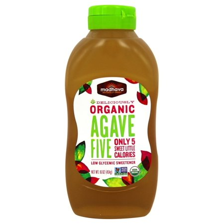 (Madhava Organic Agave Five Low-Glycemic Sweetener, 16.0 OZ)