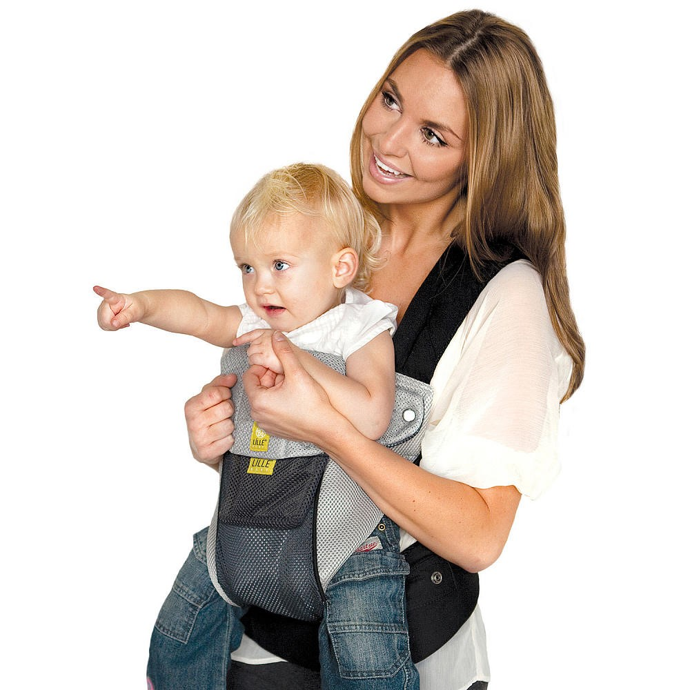 LILLEbaby Airflow Baby Carrier Grey with Silver by lillebaby
