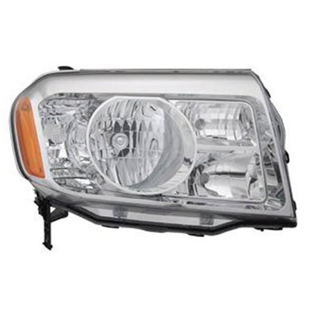 2009-2011 Honda Pilot Aftermarket Passenger Side Front Head Lamp Lens and Housing 33100SZAA01-V