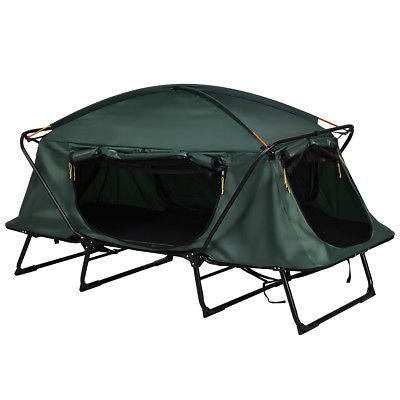 super popular b3b58 1b344 Gymax Hiking Outdoor Folding 1 Person Waterproof Elevated Camping Tent w/  Carrying Bag