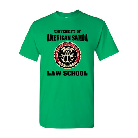 University Of American Samoa Law School DT Adult T-Shirt - Law Adult T-shirt