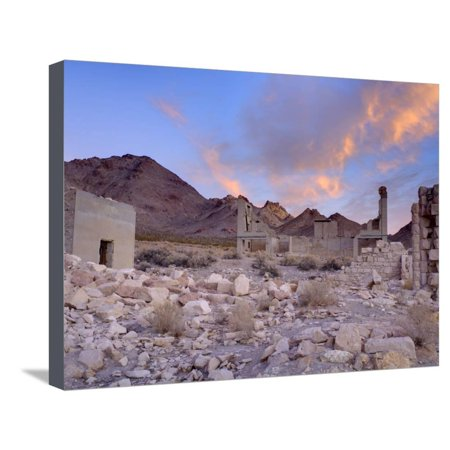 Rhyolite Ghost Town, Beatty, Nevada, United States of America, North America Stretched Canvas Print Wall Art By Richard