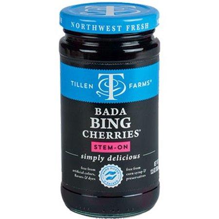 (2 Pack) Tillen Farms Cherries, Bada Bing, 13.5 Oz