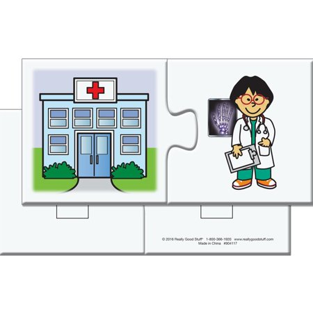 Find-A-Pair Puzzles - Community Helpers](Community Helper Books)