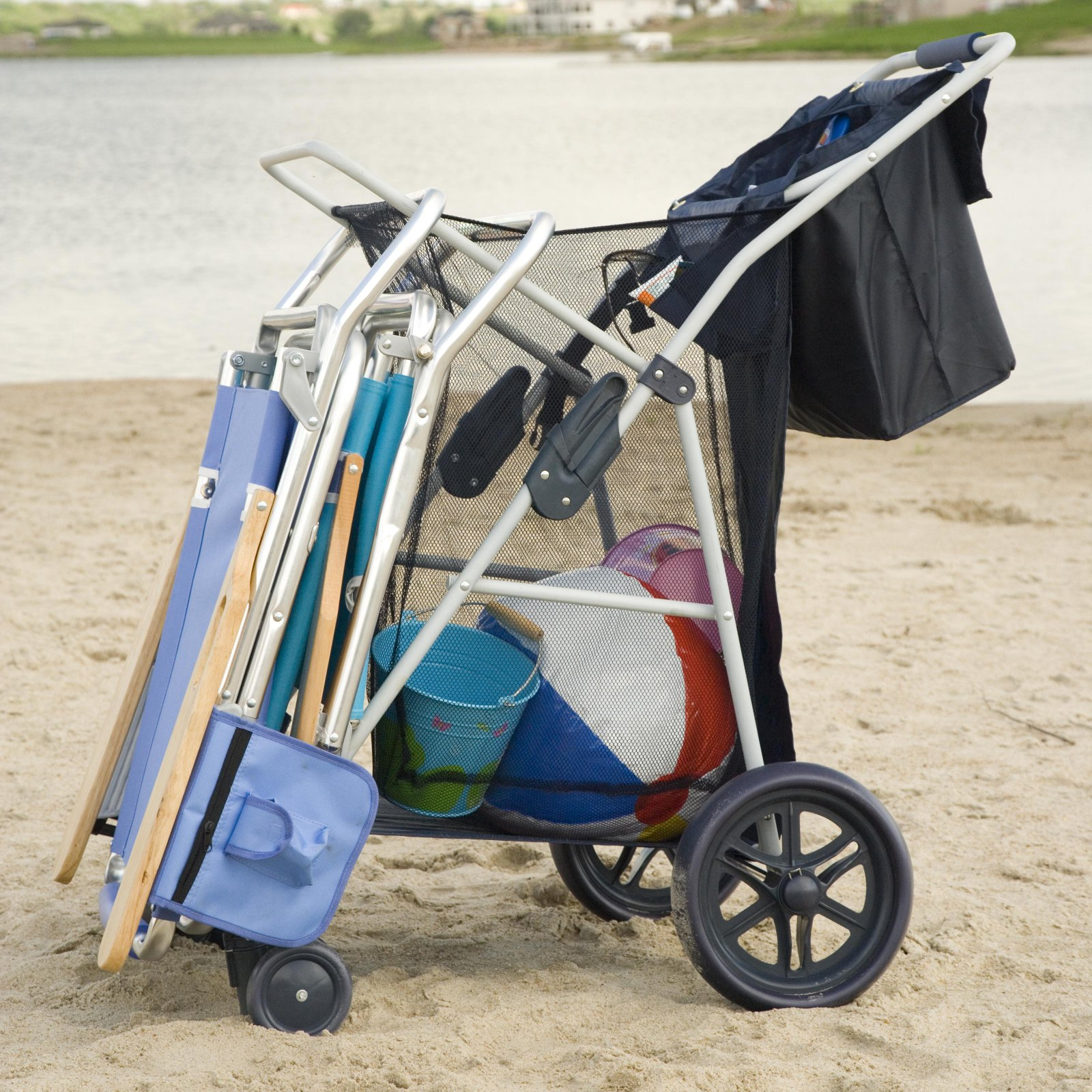 Rio Deluxe Wonder Wheeler with Front Wheels and Tote