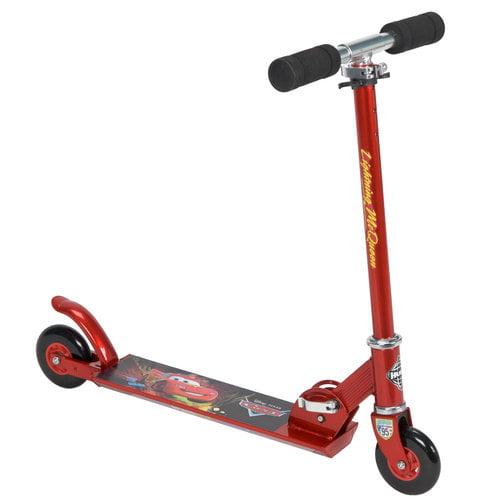 Huffy Disney Cars Boys' Inline Folding Scooter