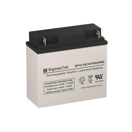 Yuasa NP18-12B  Battery Replacement (12V 18AH SLA Battery)