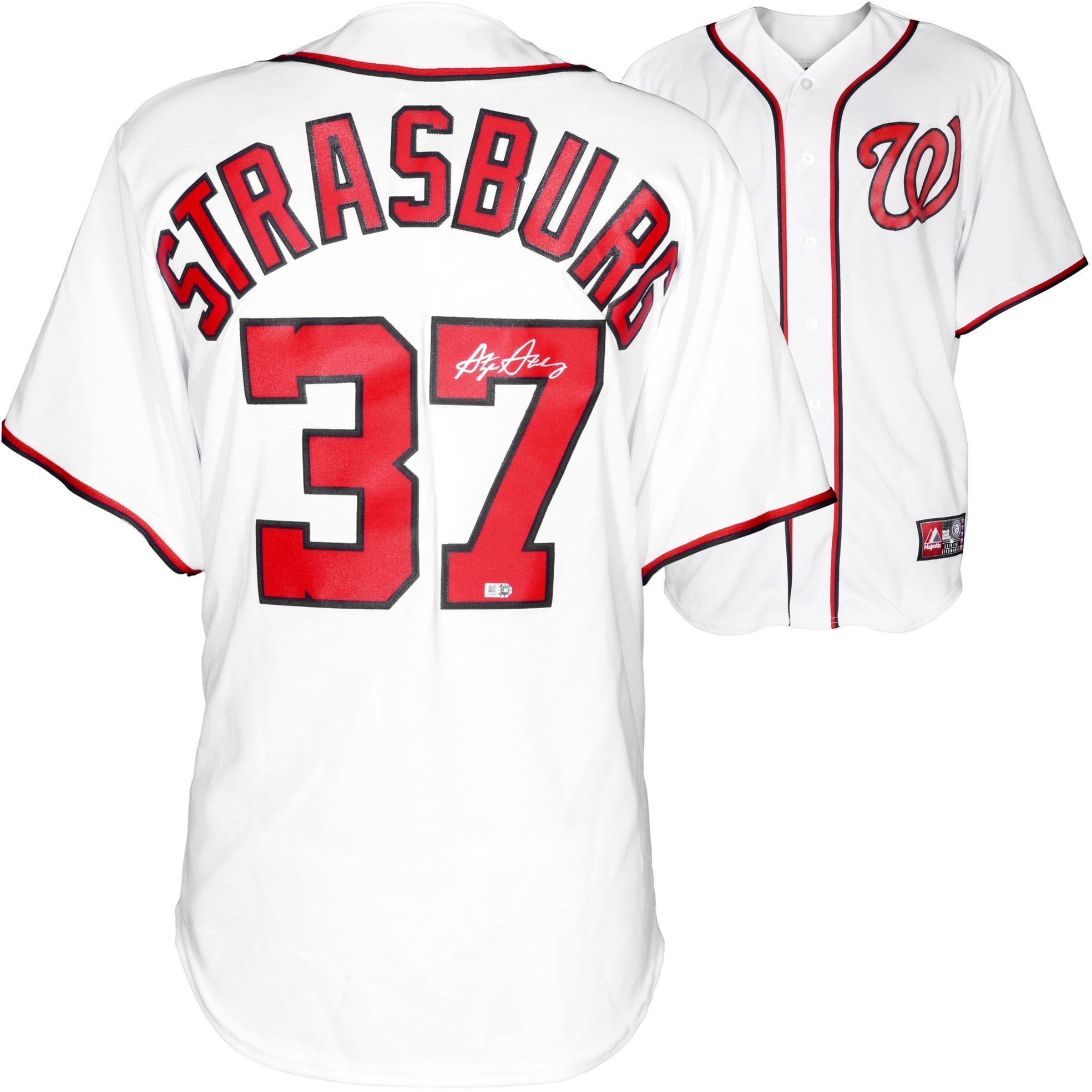 MLB - Stephen Strasburg Autographed Jersey | Details: Washington Nationals, Majestic