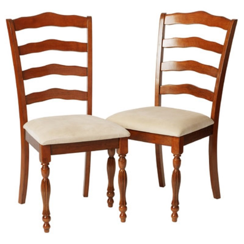 Incroyable Regency Dining Chair, Burnt Walnut (Set Of 2)