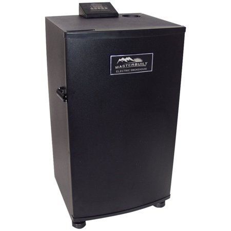 Masterbuilt 20070910 30 Inch Black Electric Digital Smoker  Top Controller