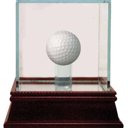 Glass Golf Ball Case