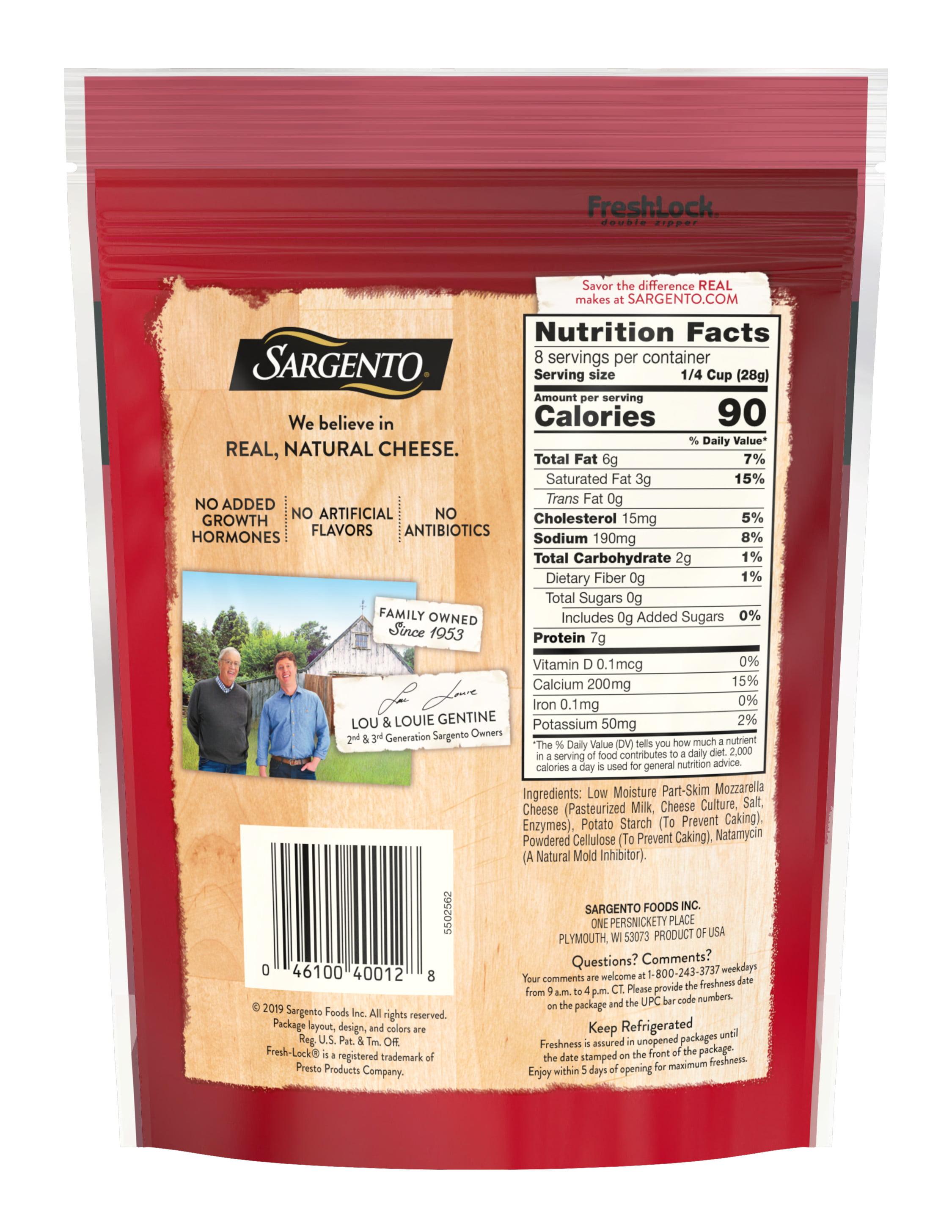 Sargento® Shredded Mozzarella Natural