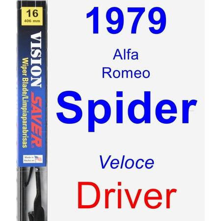 1979 Alfa Romeo Spider (Veloce) Driver Wiper Blade - Vision Saver