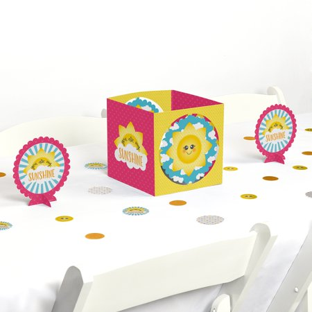 You Are My Sunshine - Baby Shower or Birthday Party Centerpiece & Table Decoration - Sun Decorations