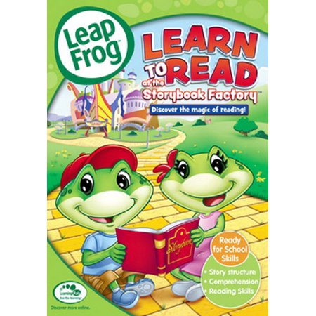 Leapfrog: Learn to Read at the Storybook Factory - Children's Halloween Story