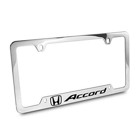 Honda Accord Chrome Metal 50 States License Plate