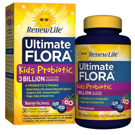 Renew Life Kids Probiotic Ultimate Flora 3 Billion 30