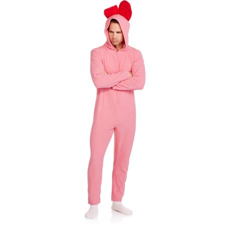 christmas story pink bunny mens licensed union suit