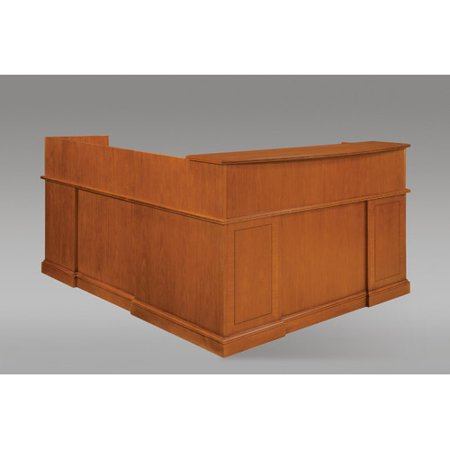 Flexsteel Contract Right Shape Reception Desk Drawers