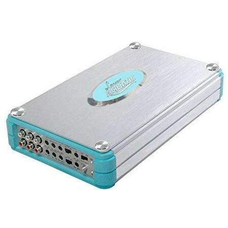 Bluetooth Marine Grade Power Amplifier, 8-Channel 4800 Watt Amp (Silver)