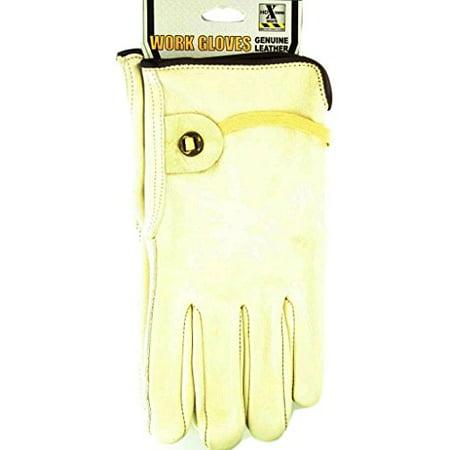 M&F Western H2112248 Men's HDX Cowhide w/Ball & Tab Gloves