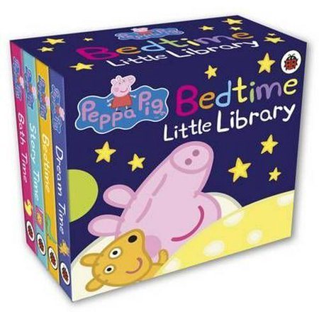 PEPPA PIG BEDTIME LITTLE LIBRARY (Full Story Of The Three Little Pigs)