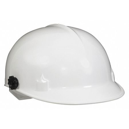 Jackson Safety C10 Bump Cap (20186) with Face Shield Attachment, Safety Hard Hat for Minor Bumps, Absorbent Brow Pad, 4-Pt. Suspension, White, 12 / Case (Hard Hat With Face Shield)