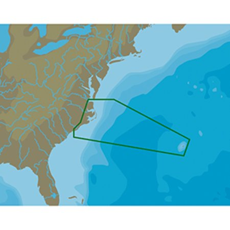 - C-MAP NT+ NA-C336 Norfolk to Bermuda to Wilmington - C-Card Format