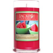 Watermelon Candle with Ring Inside (Surprise Jewelry Valued at $15 to $5,000) Ring Size 6