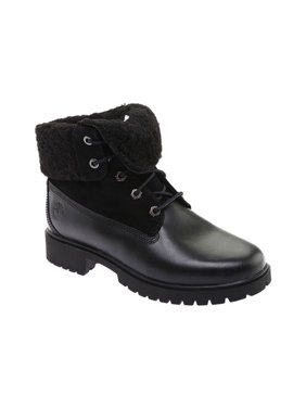 Women's Timberland Jayne Teddy Fleece Fold Down Waterproof Boot