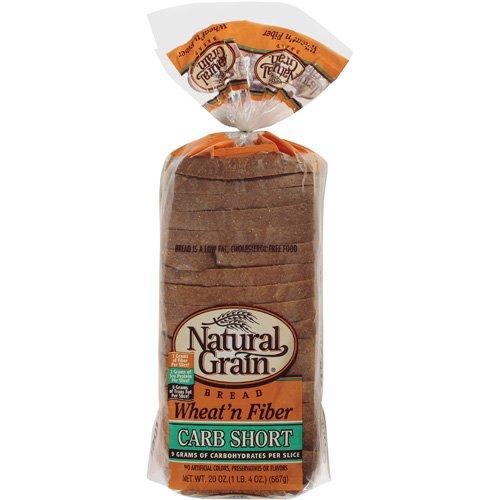 Natural Grain Wheat N Fiber Bread, 20 oz