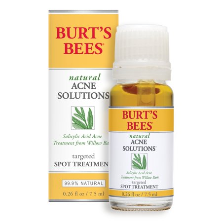 Burts Bees Natural Acne Solutions Targeted Spot Treatment for Oily Skin, 0.26