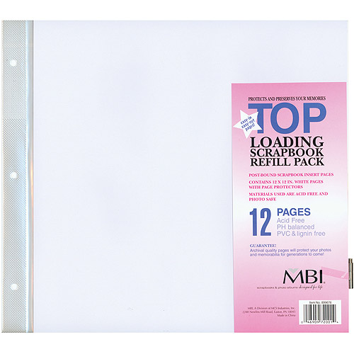Colorbok 12 X 12 Refill Pages 10pk Walmart
