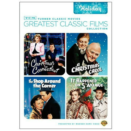 Christmas In Connecticut Dvd.Tcm Greatest Classic Films Collection Holiday Dvd