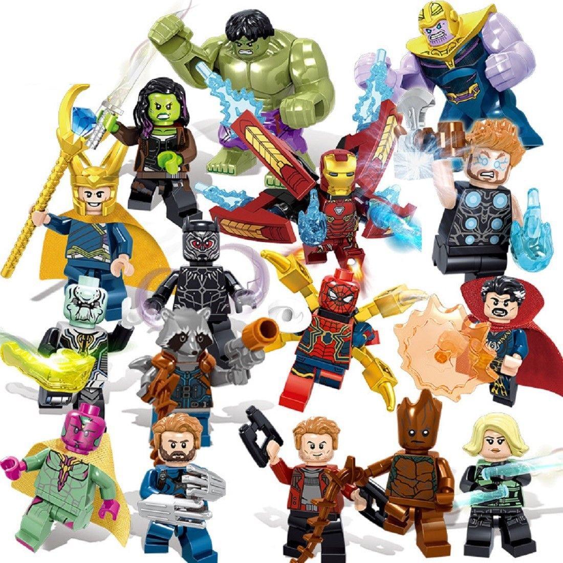 Doctor Strange and Wong Custom Minifigure Set Marvel Universe LEGO Compatible