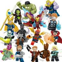 Marvel Super Heroes Avengers 3 Infinity War Action Figure LEGO COMPATIBLE SET