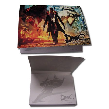 Memo Pad - DMC - New Dante Cover Art Stationary Anime Licensed ge72020 (Dmc Dante Coat)