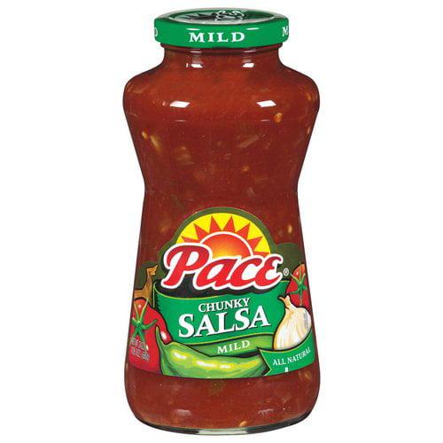 (2 Pack) PaceChunky Salsa, Mild, 24 oz. Jar