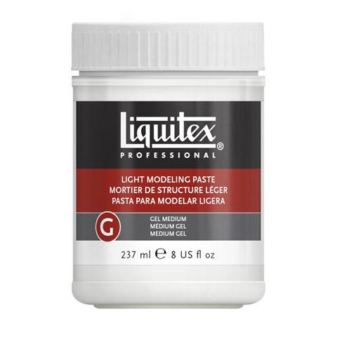 Liquitex Modeling Paste: White, 8 oz