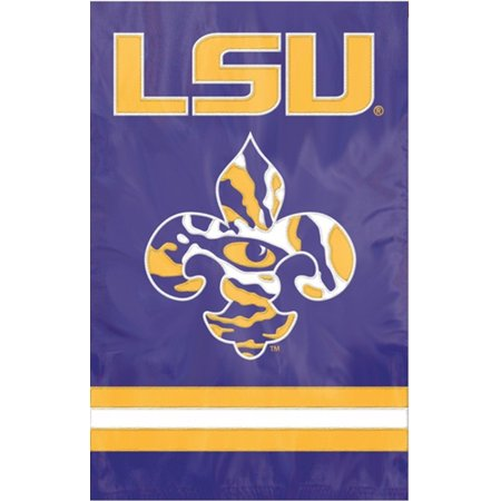 LSU Tigers Official NCAA Banner Flag by Party Animal (28x44 Flag)