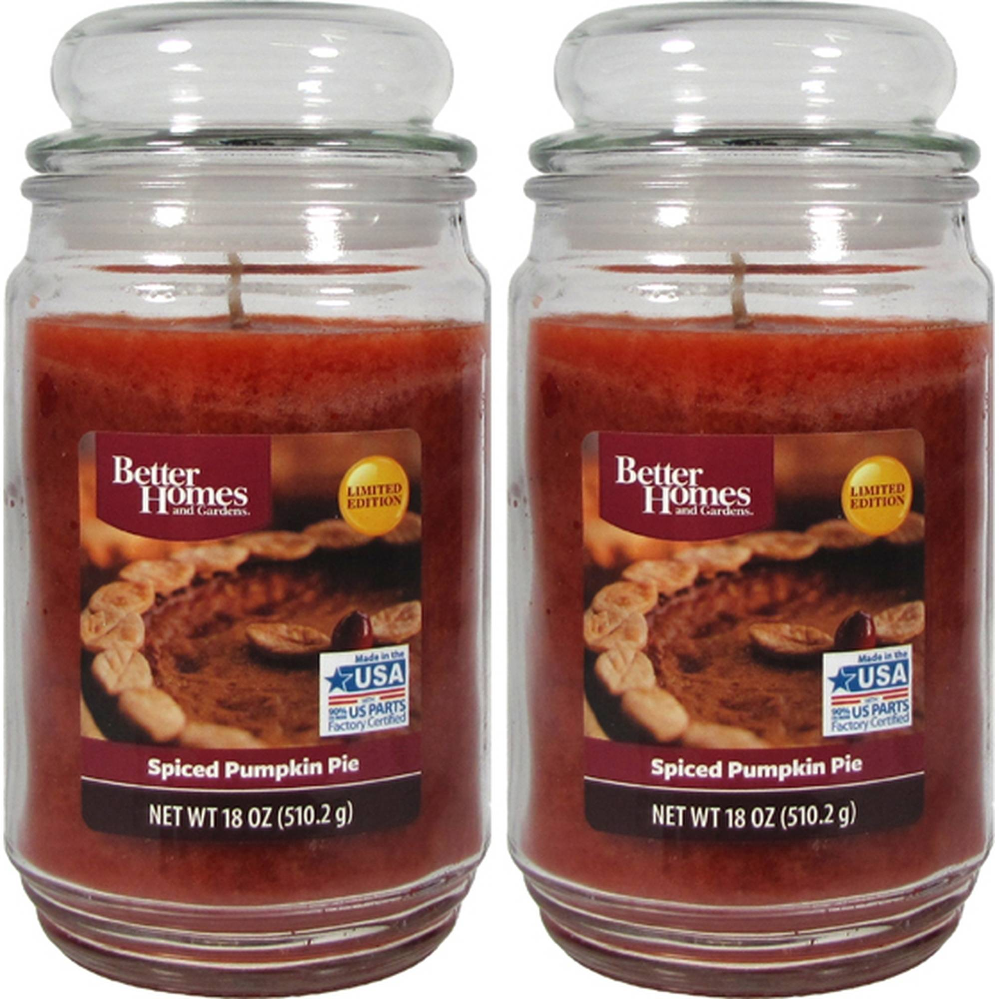 Better Homes And Gardens 18oz 2 pk. Spiced Pumpkin Pie