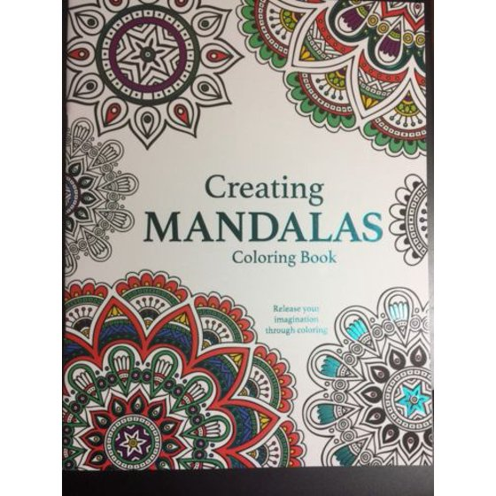 CREATING MANDALAS COLORING BOOK BRAND NEW ADULT DREAMS ART PEACEFUL CREATIVE