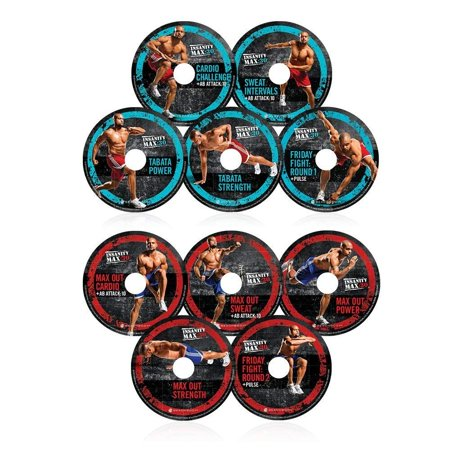 Kit complet INSANITY MAX: 30 de Shaun T - DVD Workout 13 DVD - image 1 de 6